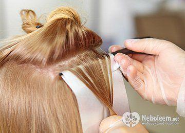 Як буде виглядати мелірування на світло-русяве волосся