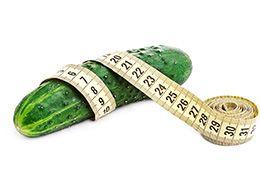 Огірки для схуднення - використання в дієтичному меню