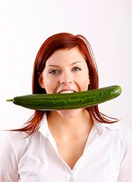 Калорійність солоних огірків і їх вживання при схудненні