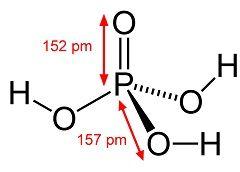 Хімічна формула ортофосфорної кислоти