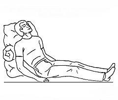 Перша допомога при гіпертонічному кризі - привести хворого в положення напівсидячи
