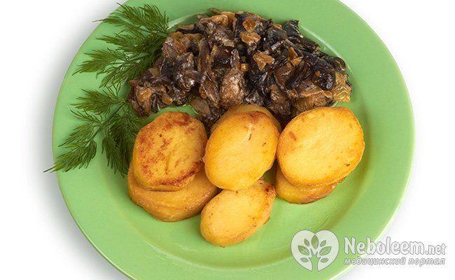 смажені гриби