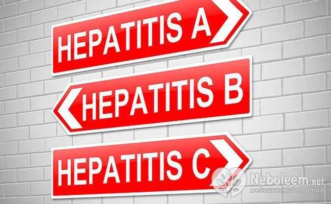 Скільки видів гепатиту існує?