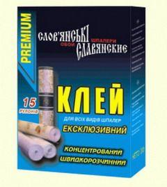 Полівінілхлорид використовується як загусник в поливинилацетатную клеї