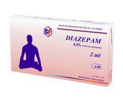 Діазепам - медикамент на основі пропіленгліколю