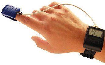 Пульсоксиметр - прилад вимірювання кисню в крові