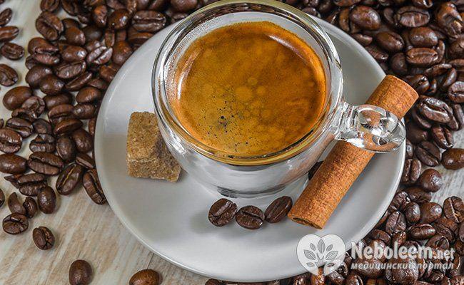 Кава прискорює обмін речовин