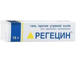 Гель для зовнішнього застосування Регецін