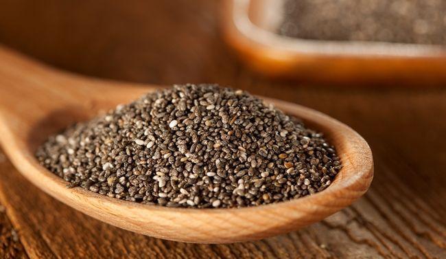 Корисні властивості насіння Чіа