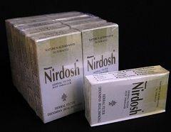 Nirdosh - сигарети без нікотину індійської компанії