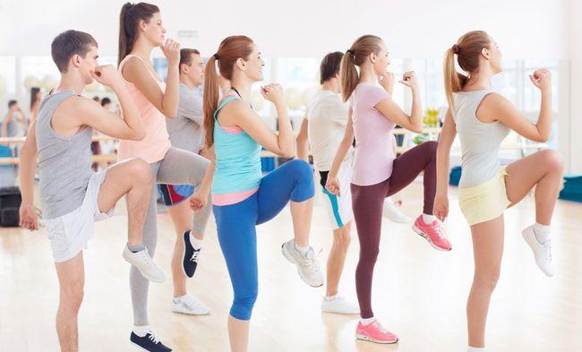 Уроки танцювальної аеробіки для новачків