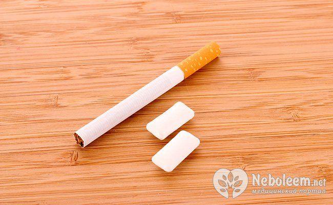 Пластир і нікотинова жуйка