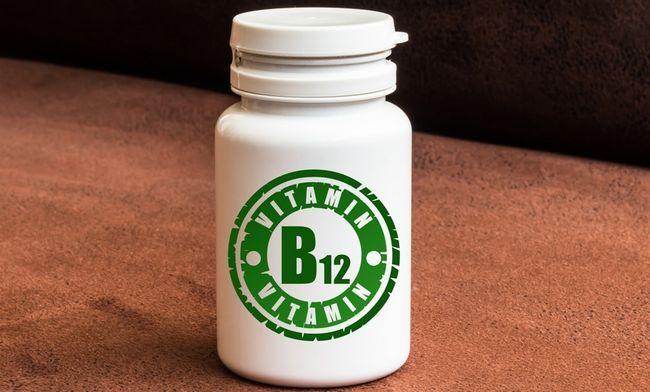 Вітамін B12 в таблетках