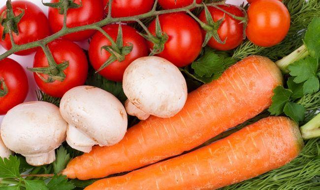 Вітамін B4 в продуктах