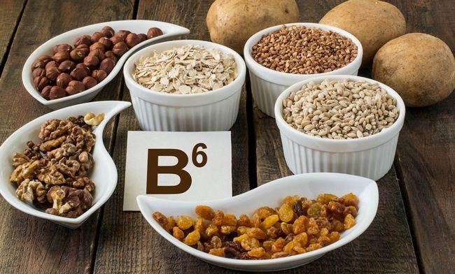 Вітамін B6 в продуктах харчування