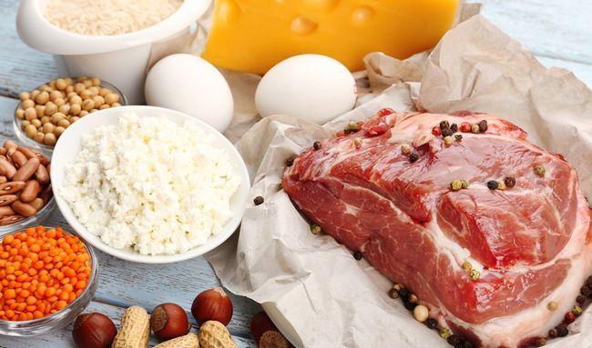 Вітамін B в продуктах