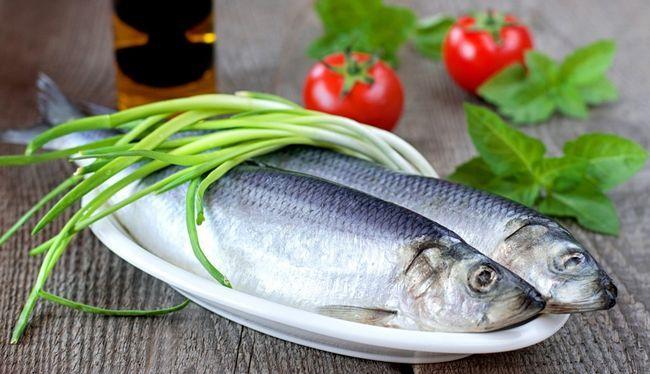 Оселедець - один з основних джерел вітаміну D