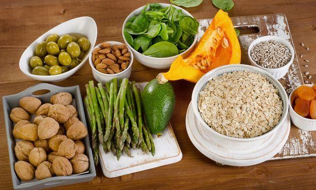Вміст вітаміну E в продуктах