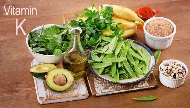 Вміст вітаміну K в продуктах