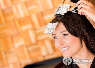 Волосся після мелірування