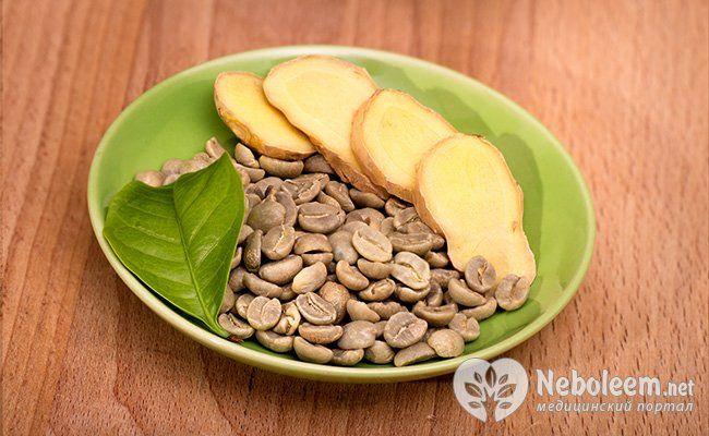 Рецепт зеленого кава з імбиром