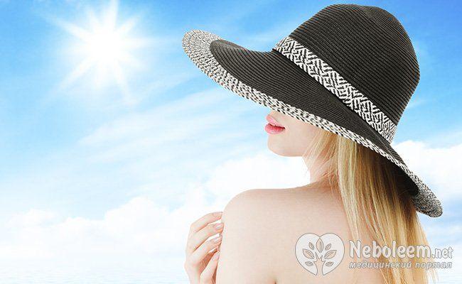 Захищайте волосся від сонячних променів